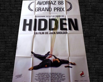 Original HIDDEN 1987 movie poster