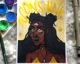 Sunshine ORIGINAL ART