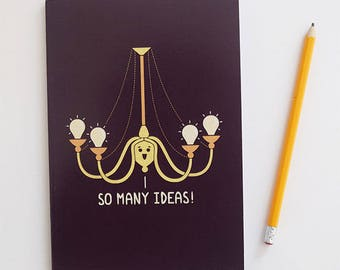 So Many Ideas A5 Notebook