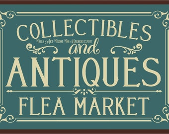 Primitive Stencil Collectibles and Antiques Reusable