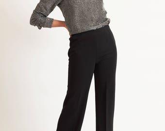 Wide Leg '70s Trouser