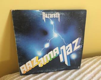 Nazareth Razamanaz Record Album