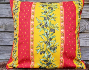 Pillow Cover, Throw Pillow 16x16 inch, Decorative Pillow, 100% Pure cotton, Linen Home Decor Linen Cushion Colorful Pillow Retro Pillow