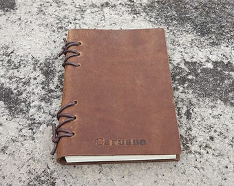 Leather notebook personalized leather notebook leather journal leather bound journal refillable mens journal leather diary handmade diary