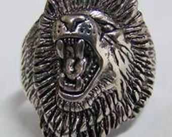Roaring Lion Ring
