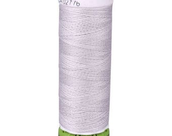 Silver Gutermann Recycled Polyester Thread (GT8)