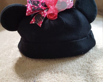 Embellished Minnie Baby Hat
