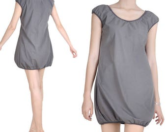 Bubble (M102) cotton tunic dress