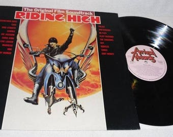 Riding high-Soundtrack-Arival Records an 8031-near mint-vinyl record