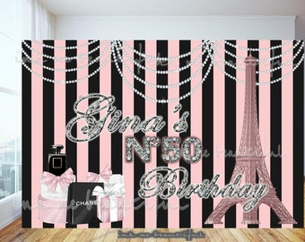 DIGITAL FILE Candy Table Backdrop, Babyshower, Bridal Shower, Fashion Baby Shower, Fashion Bridal Shower, Fashion Birthday, Couture Party