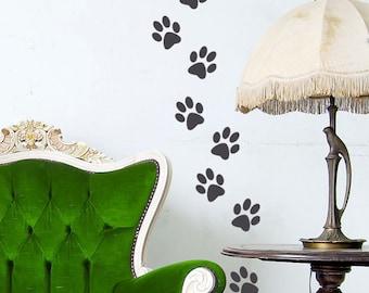 More Colors Animal Paw Prints
