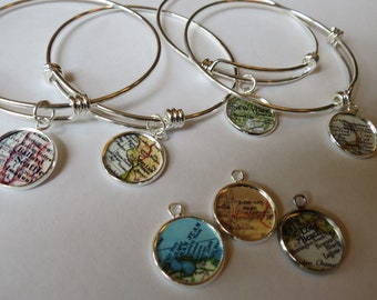 Gift bracelet, Customize for Mom, military mom, Long Beach personalize bracelet, Mother Daughter, Graduation Gifts, Florence, senior gift