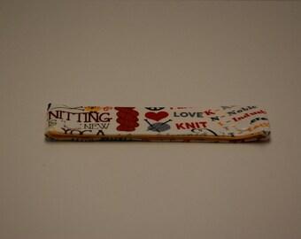 Knitting Phrases Needle Keeper