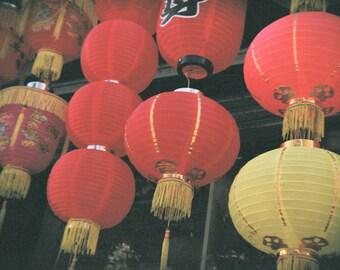 Chinese Lanterns, Holga Photography, Digital Photo Download