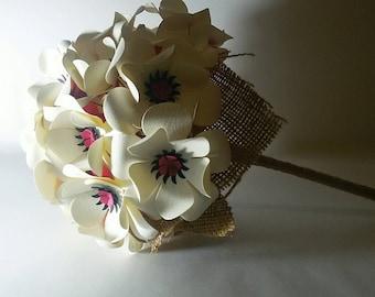 Bouquet of flowers, bridal bouquet, bouquet of white flowers