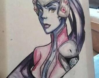 Widowmaker Overwatch tableau unique