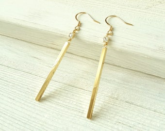jewelry in smoky agneta rod with bugyte grains earrings gold metallic lyst