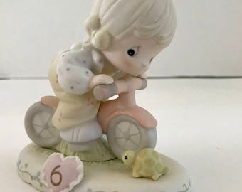 Vintage 1994 Enesco Precious Moments Year 6 Growing in Grace Porcelain Figurine