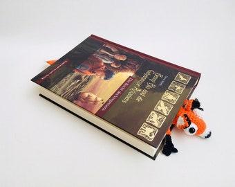 Crochet Bookmark Fox Amigurumi