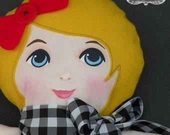 Boutique Hand Painted Rag Doll Marsha OKID