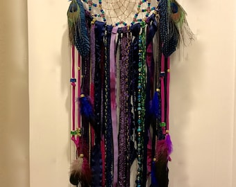 Dynamic Jewels Large Dream Catcher Wall Hanging
