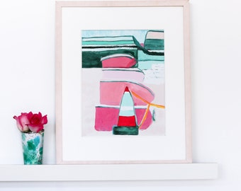 Modern Abstract painting - original and prints