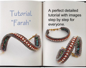 Jewelry Tutorial.... Farah... Bracelet