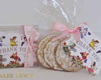 Pixie Hollow Favor Tags by Loralee Lewis