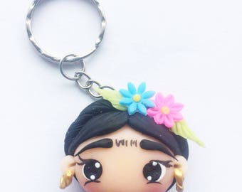 Frida Khalo Key Chain