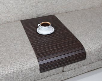 Sofa Arm Tray, Sofa Tray Table, Coffee Table, Sofa Table, Wood Tray, Sofa Arm Table, Gift, Home&Living, TOGZ3060FF