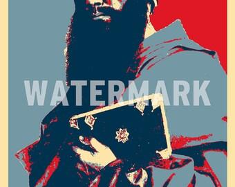 Paul the Apostle Original Art Print - Photo Poster Gift - Hope Parody