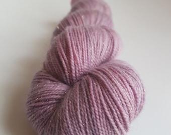 Skein of Superwash Merino - Nylon - Stellina / Fingering / Sock hand - dyed colour Antoinette