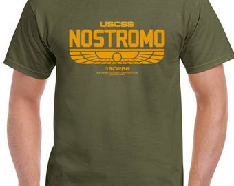 Nostromo Mens Alien Inspired T-Shirt