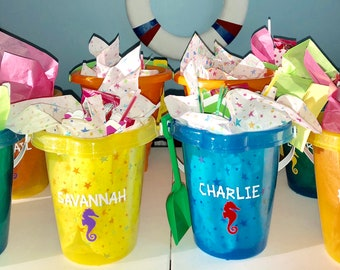 Personalized Goodie Buckets