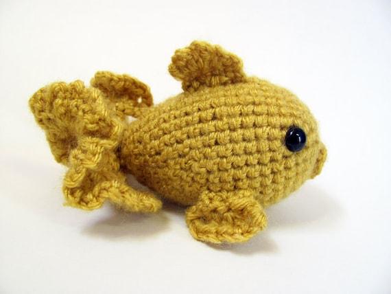 Crochet Pattern Pdf Amigurumi Goldfish Amigurumi Pattern