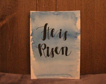 "Painting // ""He Is Risen"""