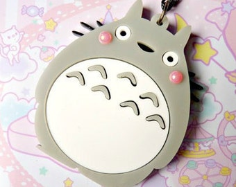 SALE Cute Totoro Acrylic NECKLACE / KEYCHAIN