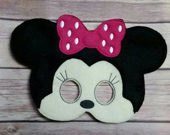 Minnie Mouse mask Pretend Play Mask Party Favor Dress Up