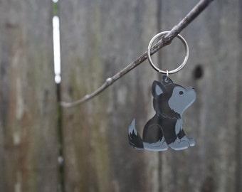Husky Keychain