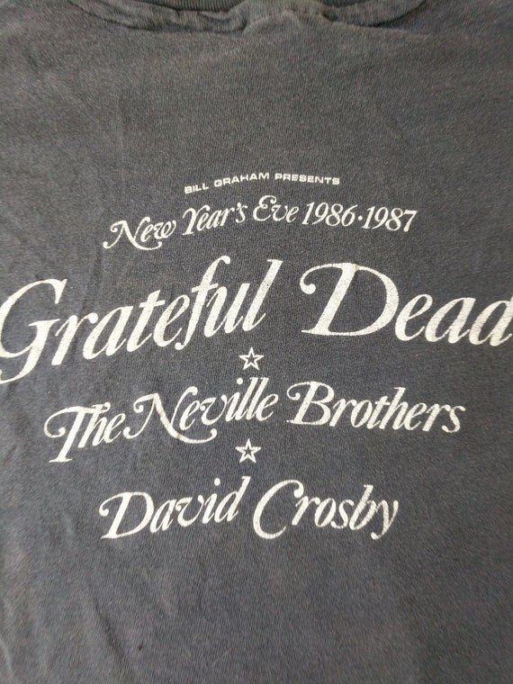 1986 Jerry California Grateful Garcia Years Eve Seal Dead Grateful Concert Political Dead Presidential Rare Shirt Oakland Tshirt New Shirt U6n7pwtqnx