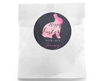 Happy Easter Favor -  Easter Favor Labels - Easter Basket- Happy Easter - Easter Favor Ideas - Easter Candy - Easter Bag