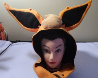 Flareon Themed Hoodie/Hat