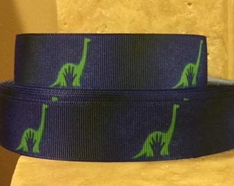 5 YDS Good Dinosaur Ribbon