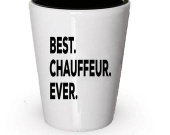 Chauffeur Shot Glass, Best Chauffeur Ever, Chauffeur gift, Gift for Chauffeur , Birthday Gift, Christmas Present