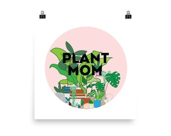 Plant Mom Prints