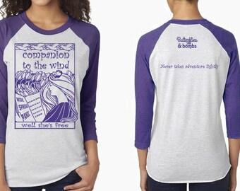 Widespread Panic Gradle 3/4 Length T-shirt
