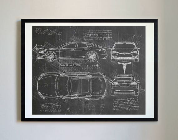 Tesla model s 2016 tesla artwork blueprint specs blueprint tesla model s 2016 tesla artwork blueprint specs blueprint patent prints posters tesla decor art car art cars 226 malvernweather Choice Image