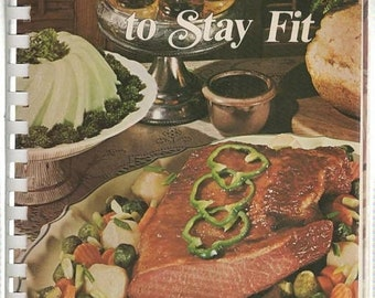 BTS Dieting To Stay Fit Favorite Recipes of Home Economics Teachers 1988 Spiral Softback