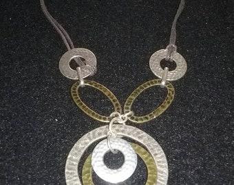 Vintage string necklace