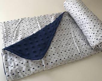 Ultra Soft Baby Blanket - WITH CUSTOM LETTER